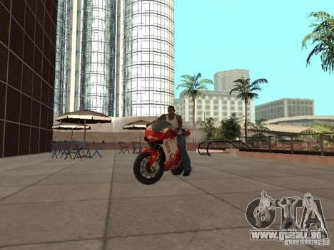 Ducati 1198R für GTA San Andreas