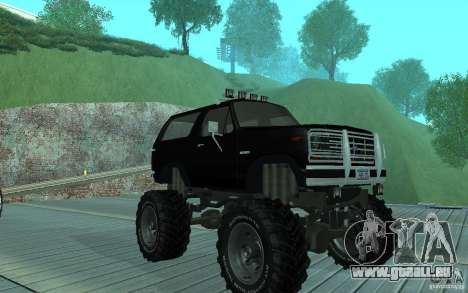 Ford Bronco Monster Truck 1985 für GTA San Andreas