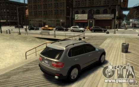BMW X5 E70 Chrome für GTA 4 rechte Ansicht