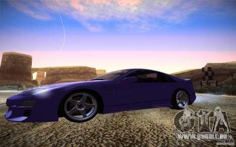 Nissan 300 ZX pour GTA San Andreas laissé vue