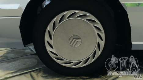 Mercury Tracer 1993 v1.1 für GTA 4 Rückansicht