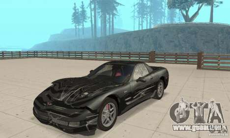 Chevrolet Corvette 5 für GTA San Andreas Seitenansicht