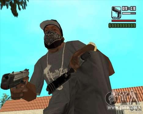 New Pistol für GTA San Andreas zweiten Screenshot