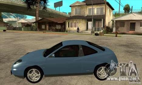Fiat Coupe - Stock pour GTA San Andreas laissé vue