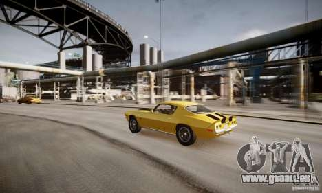 Chevrolet Camaro Z28 pour GTA 4 est une vue de dessous