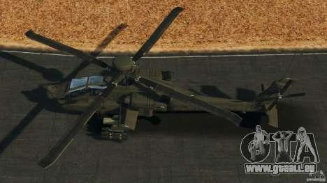 Boeing AH-64 Longbow Apache v1.1 für GTA 4 rechte Ansicht
