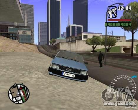 Audi 100 Avant pour GTA San Andreas vue arrière