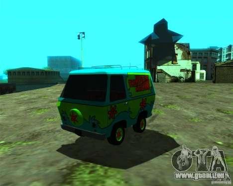 Mystery Machine pour GTA San Andreas