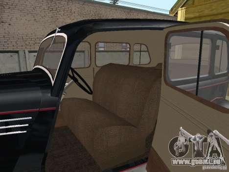 GAS 11 / 73 für GTA San Andreas Rückansicht