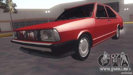 Volkswagen Passat TS 1981 Original pour GTA San Andreas