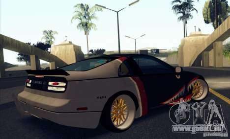 Nissan 300ZX Bad Shark pour GTA San Andreas vue de côté