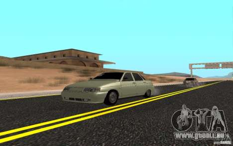 VAZ 2110 léger Tuning pour GTA San Andreas
