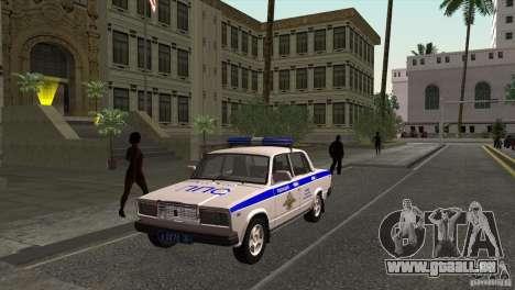 VAZ 2107 PPP Arzamas pour GTA San Andreas