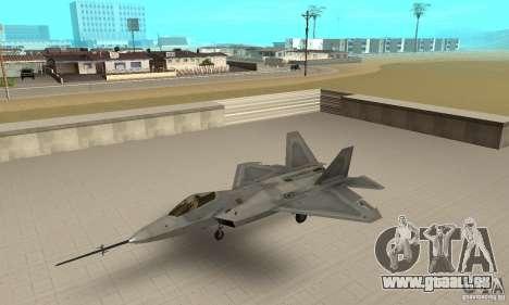 YF-22 Grey pour GTA San Andreas