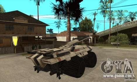 M35 Mako pour GTA San Andreas vue de droite