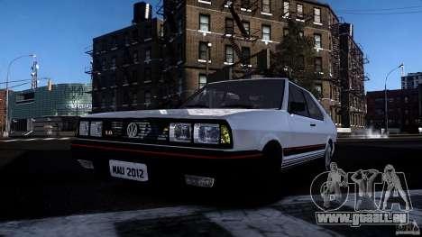 Volkswagen Passat Pointer GTS 1988 Turbo pour GTA 4 est un droit