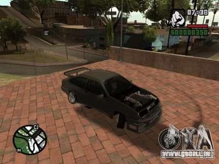 Ford Sierra Drift für GTA San Andreas linke Ansicht