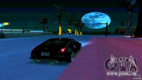 Nissan 350Z JDM pour GTA San Andreas vue de côté