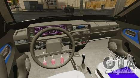 VAZ-21099 pour GTA 4 Vue arrière