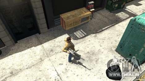 PSG1 (Heckler & Koch) für GTA 4 dritte Screenshot