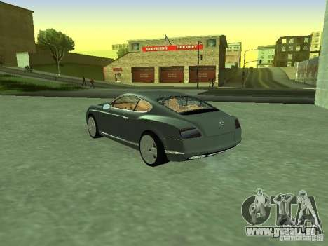 Bentley Continental GT 2010 V1.0 für GTA San Andreas linke Ansicht