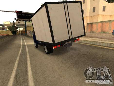 GAZ 3302-14 pour GTA San Andreas vue de droite