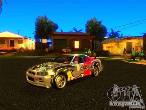 Nissan Skyline R34 Nismo pour GTA San Andreas