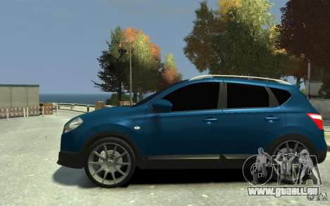 Nissan Qashqai 2010 pour GTA 4 est une gauche