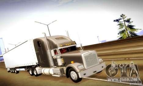 Freightliner Classic XL pour GTA San Andreas laissé vue