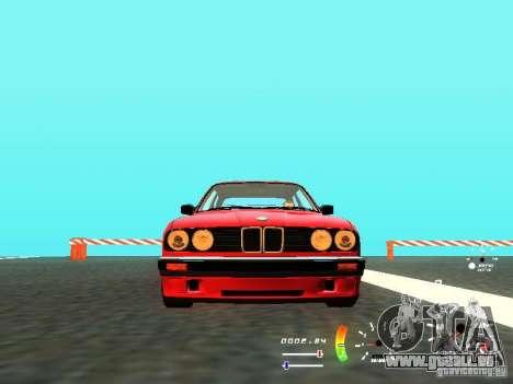 BMW E30 87-91 für GTA San Andreas zurück linke Ansicht