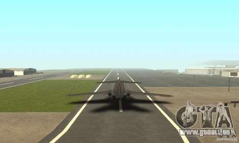 Boeing 727-100 American Airlines für GTA San Andreas linke Ansicht