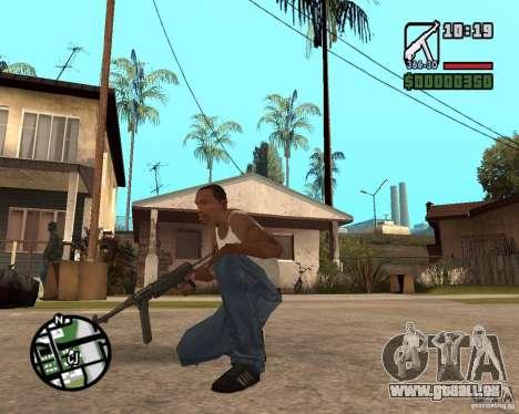 MP 40 für GTA San Andreas zweiten Screenshot