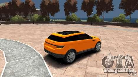 Range Rover LRX 2010 pour GTA 4 est un droit