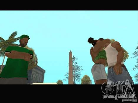 New Sweet, Smoke and Ryder v1.0 für GTA San Andreas neunten Screenshot