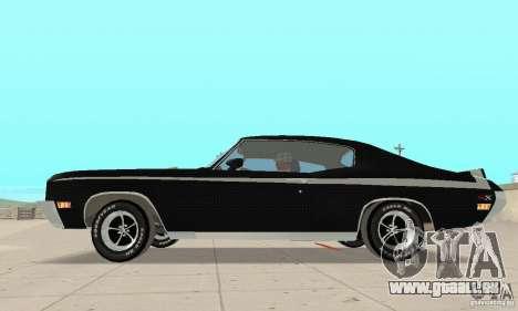 Buick GSX Stage-1 pour GTA San Andreas sur la vue arrière gauche