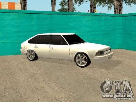 Moskvich 2141 pour GTA San Andreas vue de droite