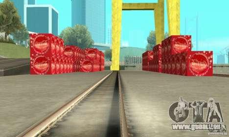 L'usine de Coca-cola pour GTA San Andreas deuxième écran