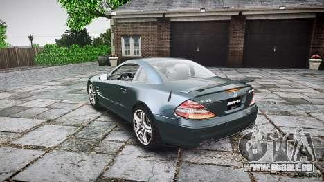 Mercedes Benz SL65 AMG V1.1 pour GTA 4 Vue arrière de la gauche