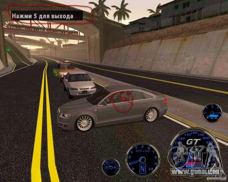 Crack pour Pimp ma voiture fixée pour GTA San Andreas troisième écran