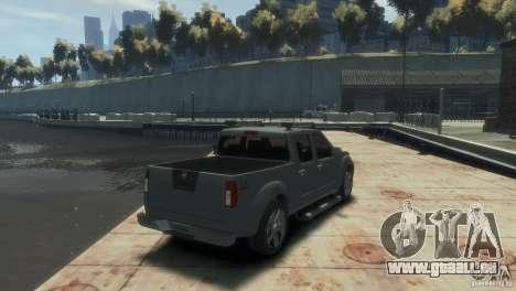 Nissan Frontier für GTA 4 linke Ansicht