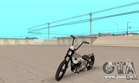 HD Shovelhead Chopper v2. 1-Chrom für GTA San Andreas