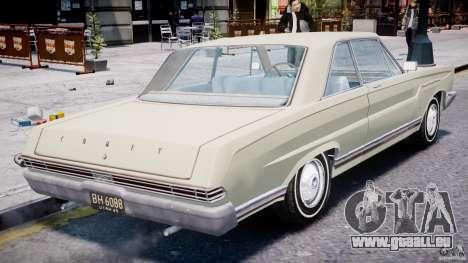 Ford Mercury Comet 1965 pour le moteur de GTA 4