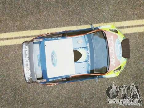 Ford Focus RS WRC für GTA 4 rechte Ansicht