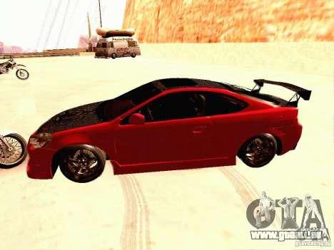 Acura RSX Drift pour GTA San Andreas laissé vue