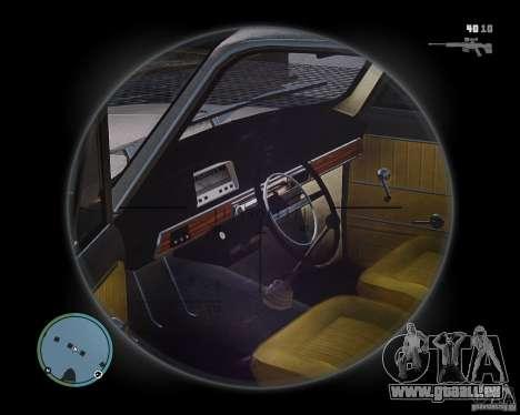 VAZ 2101 1972 Tun pour GTA 4 est un droit