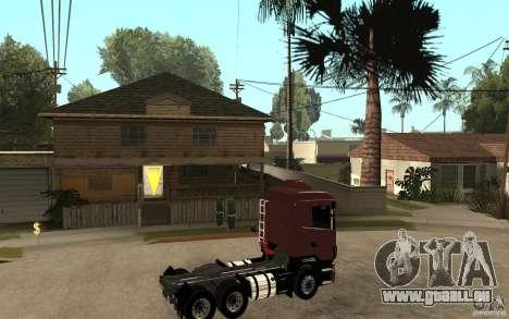 Scania 124 R480 6x4 Truck 1 pour GTA San Andreas vue de droite