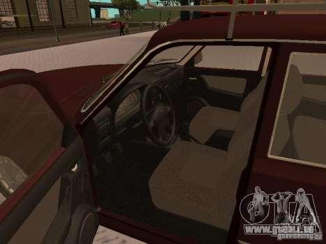 GAZ 3110 Wolga v1. 0 für GTA San Andreas rechten Ansicht