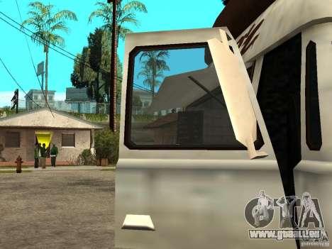 Nettoyez la vitre dans le Hotdog-e pour GTA San Andreas sur la vue arrière gauche