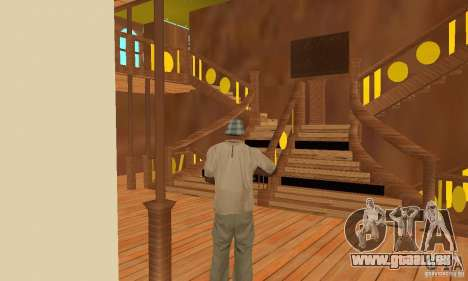 RMS Titanic pour GTA San Andreas roue