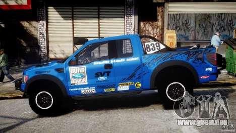 Ford F150 Racing Raptor XT 2011 pour GTA 4 est une gauche